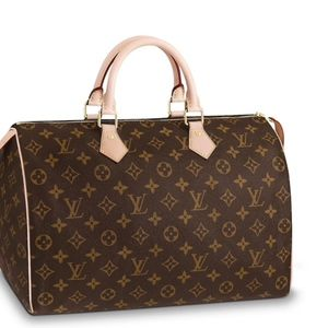 Authentic Louis Vuitton Speedy 35 gently used